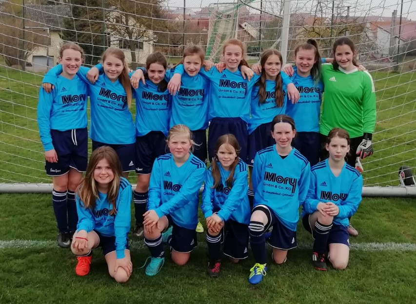 U13 Mädels, April 2019